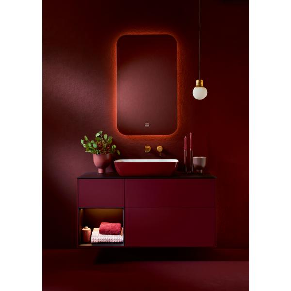 Второе изображение товара Раковина накладная Villeroy & Boch Artis 58.5 x 38.5 см Bordeaux 417258BCS9