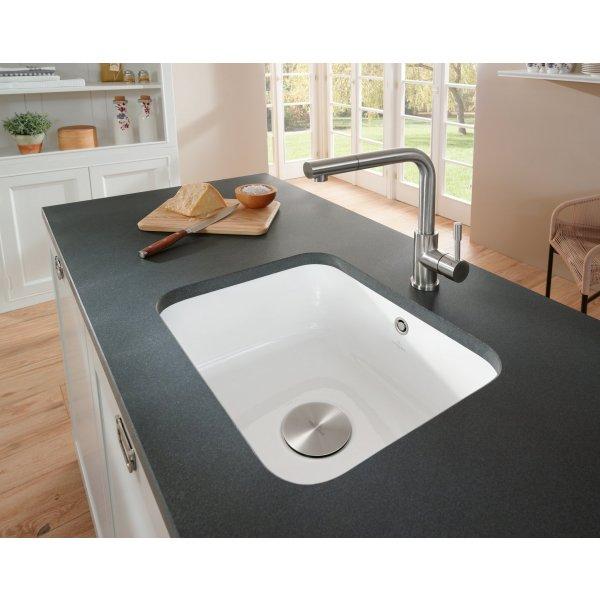 Второе изображение товара Смеситель Villeroy & Boch Steel Shower Low pressure для кухонной мойки 969711LC
