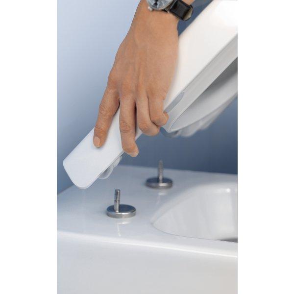 Второе изображение товара Сиденье для унитаза SlimSeat Villeroy & Boch Avento с крышкой SoftClosing QuickRelease 9M87S101