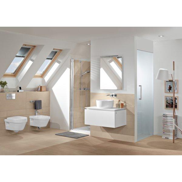 Второе изображение товара Биде Villeroy & Boch Architectura подвесное Альпийский белый 54840001