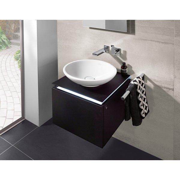 Второе изображение товара Раковина накладная Villeroy & Boch Loop & Friends 43 x 43 см CeramicPlus 514400R1