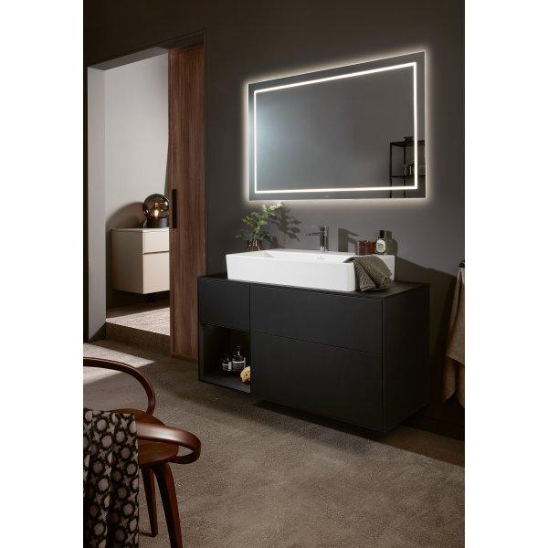 Второе изображение товара Зеркало 120 х 75 см Villeroy & Boch Finion с подсветкой F6001200