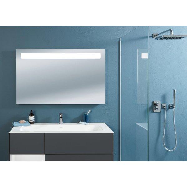 Второе изображение товара Зеркало 120 х 75 см Villeroy & Boch More To See 14 с подсветкой и аудиосистемой A4321200