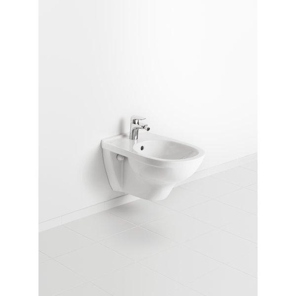 Второе изображение товара Биде Villeroy & Boch O.novo подвесное Альпийский белый 54600001