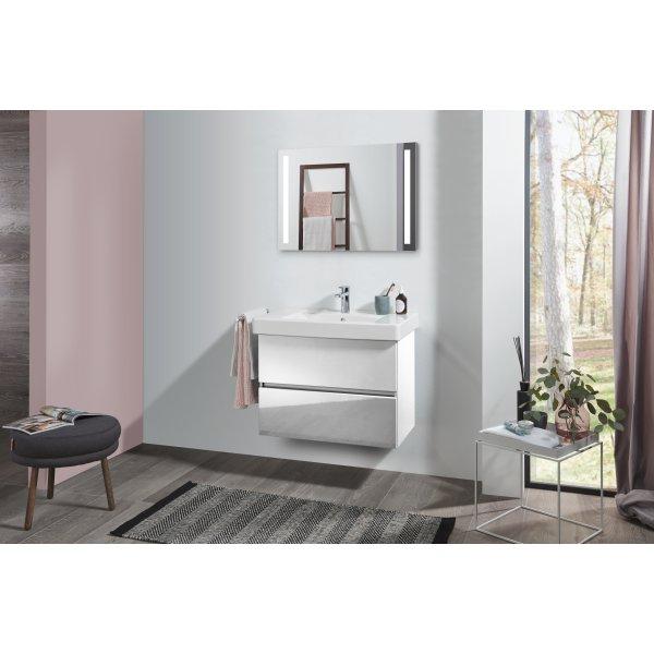 Второе изображение товара Комплект мебели с зеркалом 80 см Villeroy & Boch Pure SPUR00DHR1