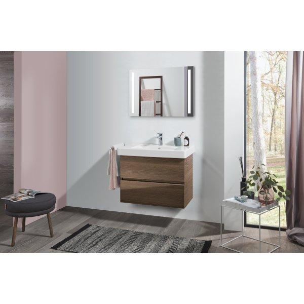 Второе изображение товара Комплект мебели с зеркалом 80 см Villeroy & Boch Pure SPUR00VHR1