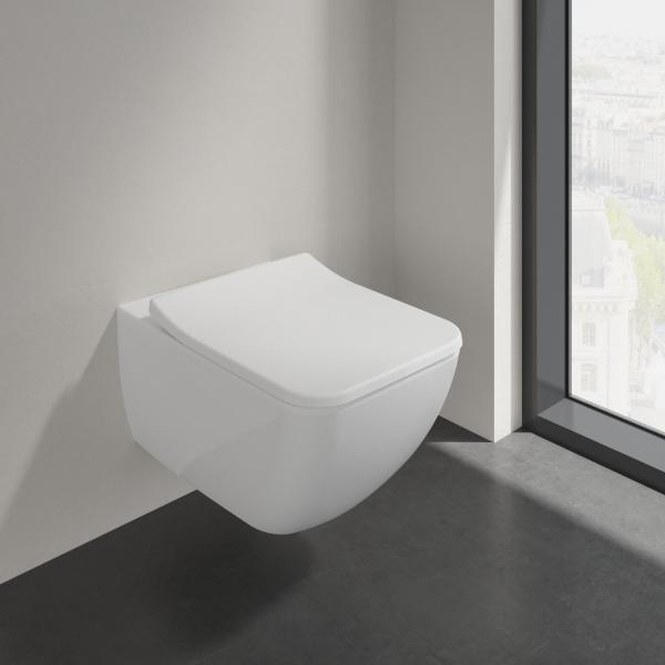 Второе изображение товара Унитаз подвесной с сиденьем SlimSeat Villeroy & Boch Collaro 4626RS01