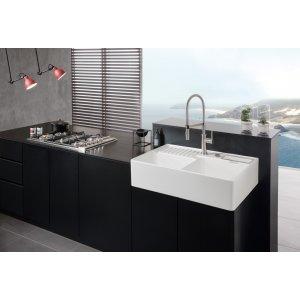 Смеситель Villeroy & Boch Steel Expert для кухонной мойки 926500LC