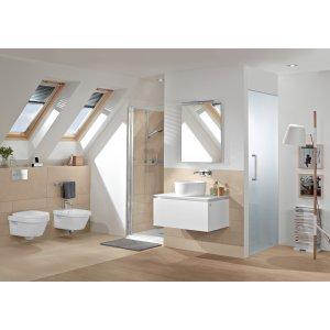 Унитаз  Villeroy & Boch Architectura подвесной с сиденьем 5684HRR1