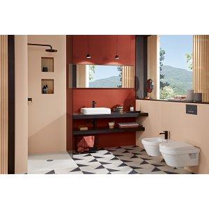 Унитаз  Villeroy & Boch Architectura подвесной с сиденьем 5684HR01