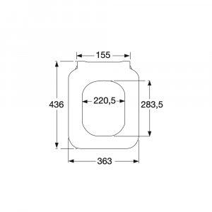 Сиденье для унитаза SlimSeat Villeroy & Boch Architectura с крышкой SoftClosing QuickRelease 9M81S101