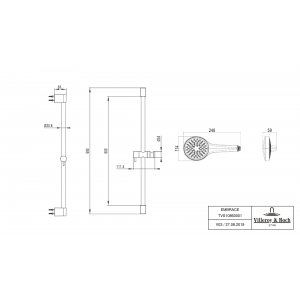 Душевой комплект Villeroy & Boch Embrace PLUS TVS1086000161