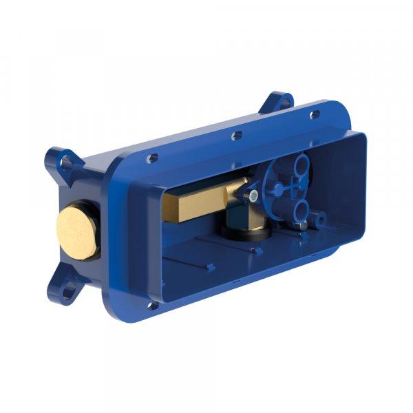 Универсальный корпус Villeroy & Boch для скрытого монтажа однорычажного смесителя TVW00015200000