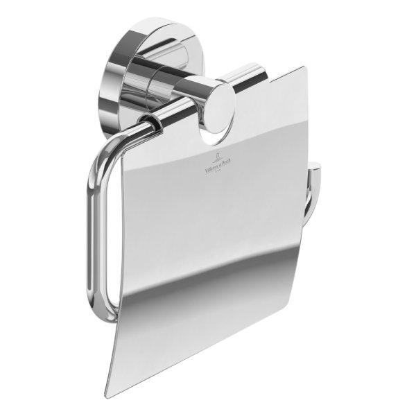Держатель для туалетной бумаги с крышкой Villeroy&Boch Elements TVA15101300061