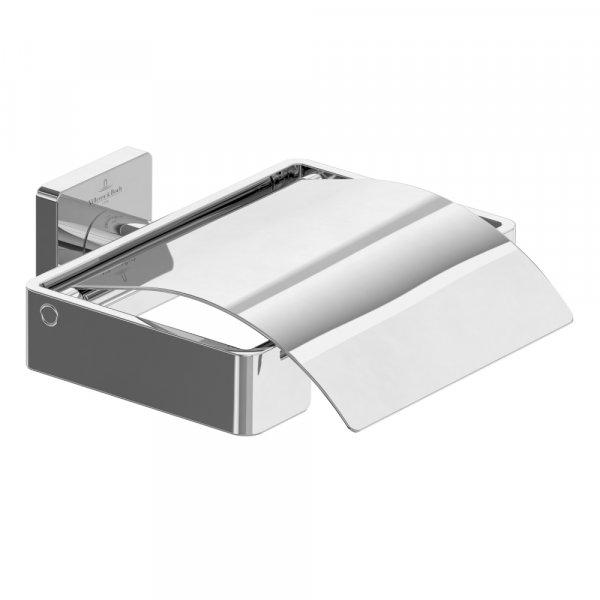 Держатель для туалетной бумаги с крышкой Villeroy&Boch Elements TVA15201300061
