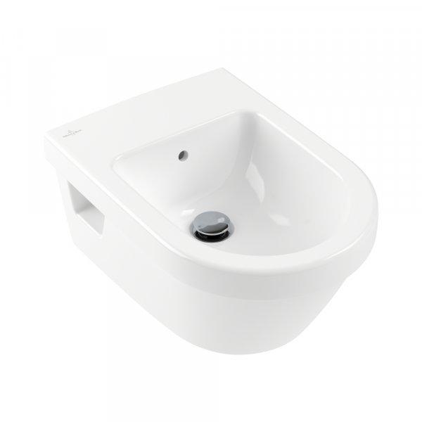 Биде Villeroy & Boch Architectura подвесное Альпийский белый 54840001