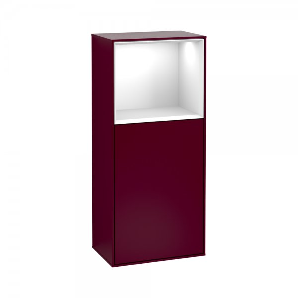 Боковой шкаф Villeroy & Boch Finion с подсветкой F500GFHB