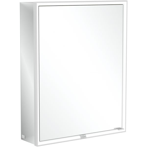 Настенный зеркальный шкаф с подсветкой 60 х 75 см Villeroy & Boch My View Now A4576L00