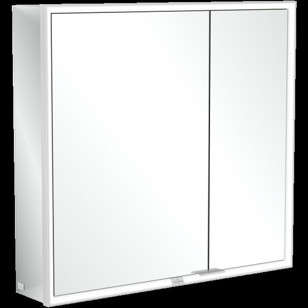 Настенный зеркальный шкаф с подсветкой 80 х 75 см Villeroy & Boch My View Now A4578000